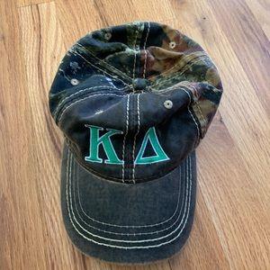 Kappa delta camo hat